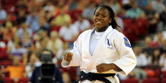 Clarisse Agbegnenou a décroché la médaille d'argent, jeudi 29 août, aux Mondiaux de Rio.