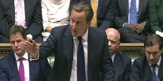 David Cameron présente au Parlement anglais la motion gouvernementale élaborée sur la situation en Syrie.