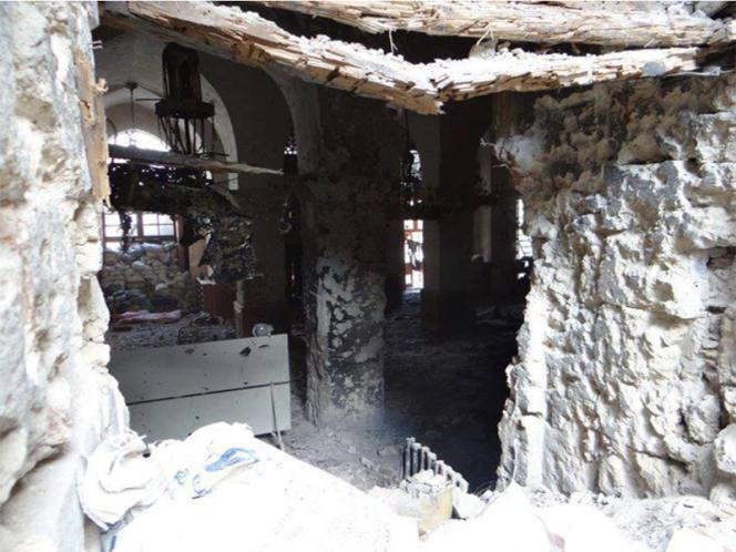 La ville d'Alep (Syrie).
