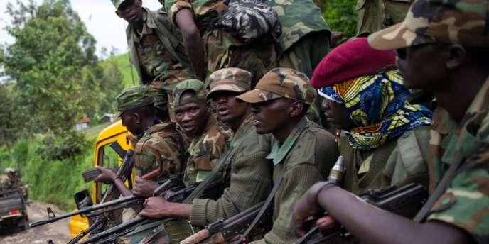 Les rebelles du M23, le 30 novembre 2012.