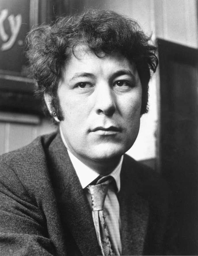 Seamus Heaney en mai 1970.