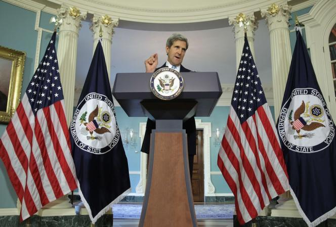 John Kerry, le 30 août à Washington.
