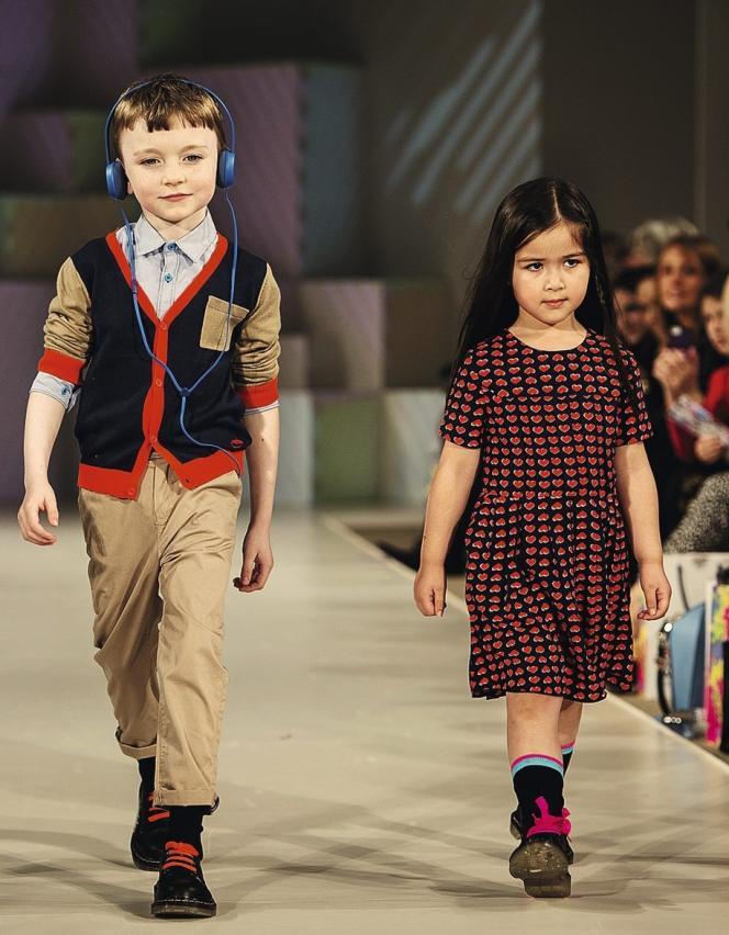 Les collections pour enfants, comme celle lancée par Little Marc Jacobs, font leur apparition sur les podiums.