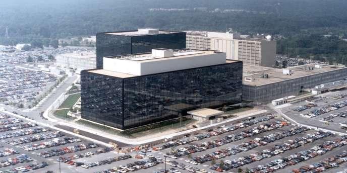 Le quartier général de la NSA, à Fort Meade, dans le Maryland.