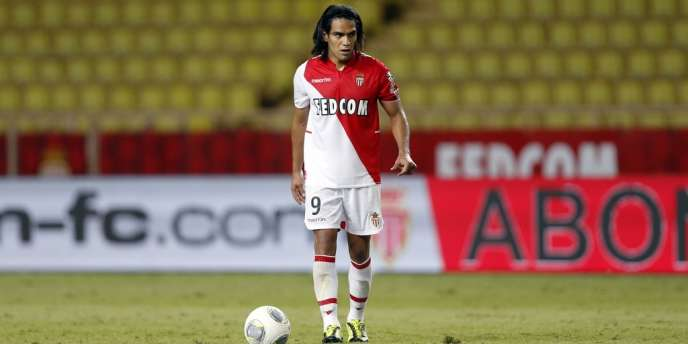 L'avant-centre colombien de l'AS Monaco, Radamel Falcao, recruté cet été en provenance de l'Atlético Madrid pour 60 millions d'euros.