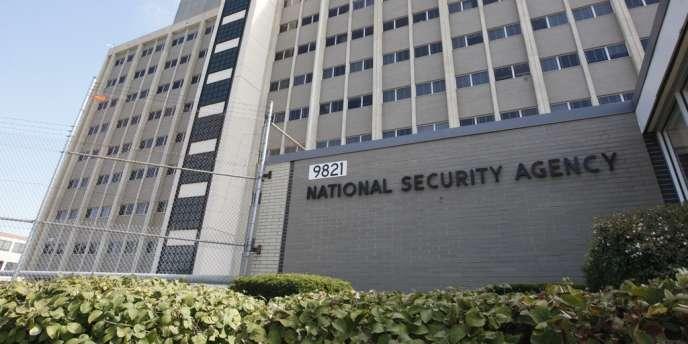 Un bâtiment de la NSA à Fort Meade, dans le Maryland.