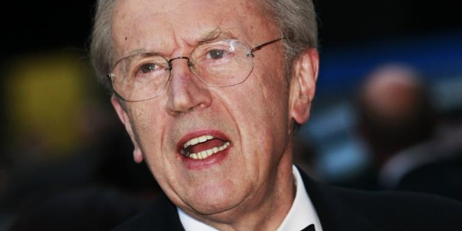 Le journaliste britannique David Frost, en 2010.