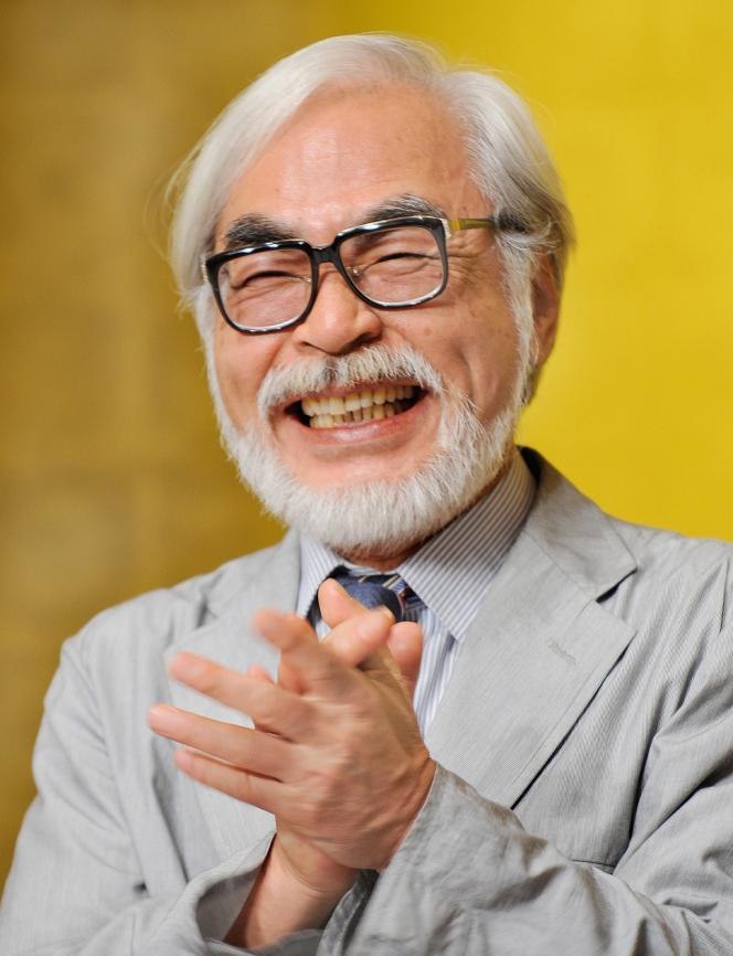 Le réalisateur nippon Hayao Miyazaki en 2008.
