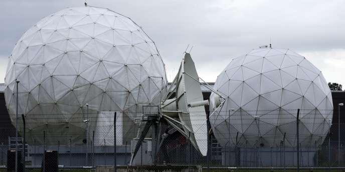 Station d'écoute de la NSA à Bad Aibling, en Allemagne.