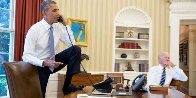 Barack Obama à la Maison Blanche, le 31 août.