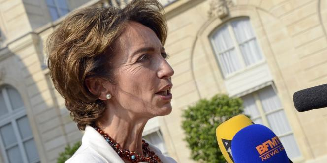 La ministre des affaires sociales, Marisol Touraine, le 28 août à l'Elysée.