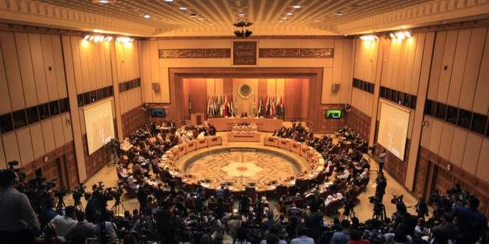 Réunion des ministres arabes des affaires étrangères, le 1er septembre au Caire.