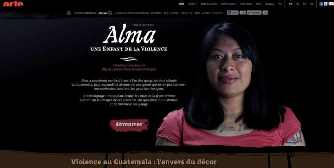 Page d'accueil du webdocumentaire de Miquel Dewever-Plana et Isabelle Fougère,
