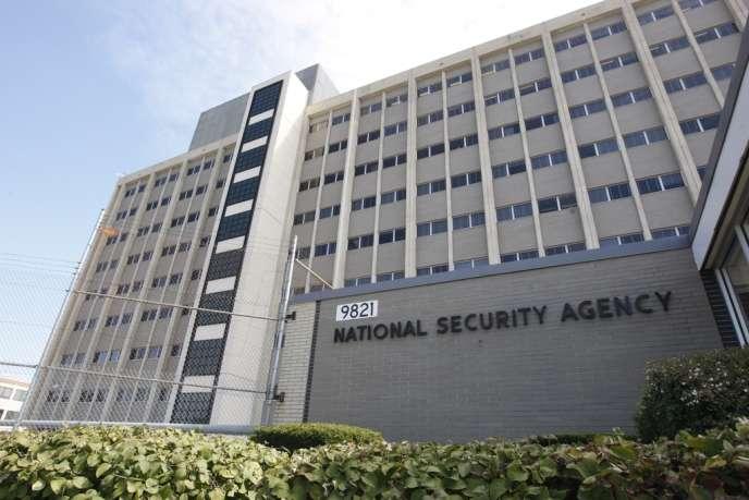 Le siège de la NSA, à Fort Meade en 2007.