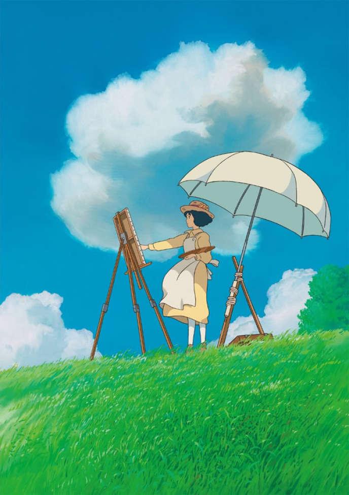 Une image du film d'animation japonais de Hayao Miyazaki,