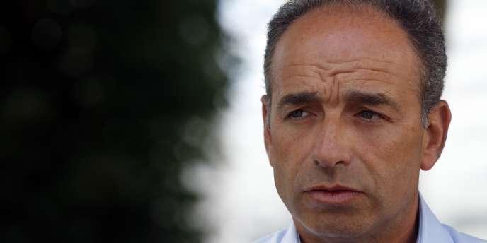Jean-François Copé, actuel président de l'UMP, le 31 août, à Puteaux (Hauts-de-Seine) au Campus des jeunes populaires.