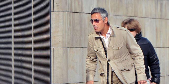 Pascal Bonnefoy à son arrivée au tribunal de Bordeaux, en juin 2012.