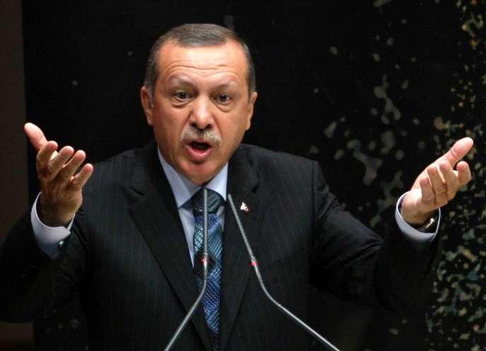 Le premier ministre turc, Recep Tayyip Erdogan, le 20 août 2013 à Ankara.