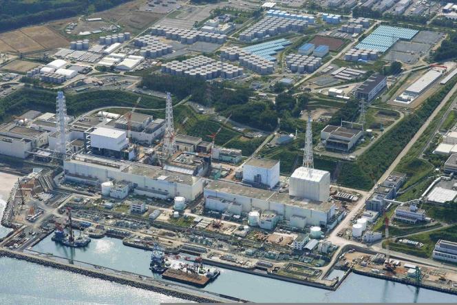 Vue de la centrale accidentée de Fukushima, le 31 août 2013.