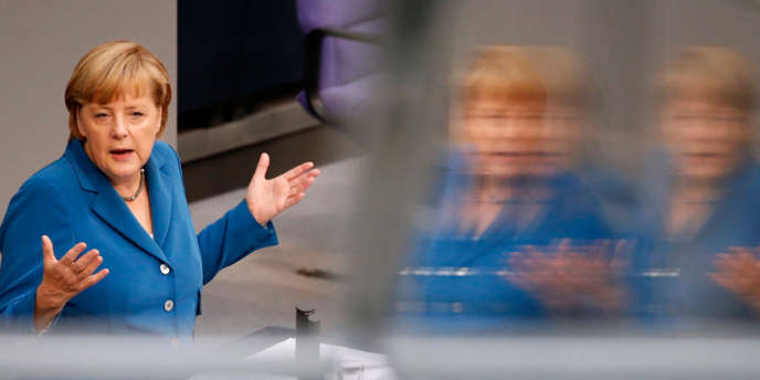 La chancelière allemande Angela Merkel, le 3 septembre 2013, à Berlin.