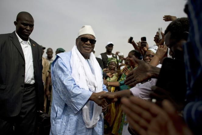 Ibrahim Boubacar Keïta, après son élection à la tête du Mali, le 11 août dernier.
