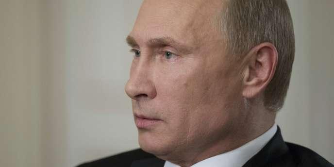 Vladimir Poutine, le 3 septembre à Moscou.