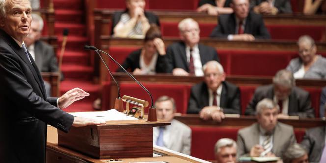 Jean-Marc Ayrault a affirmé à la tribune de l'Assemblée qu'une intervention militaire ne viserait pas à renverser le régime de Bachar Al-Assad.