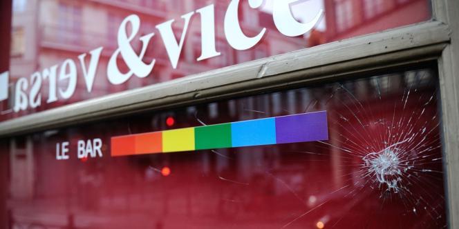 Le bar Vice & Versa, dans le Vieux Lille, lieu de l'agression présumée homophobe du 17 avril dernier.