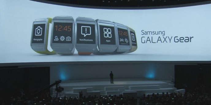 Les objets connectés les plus attrayants sont les voitures (mentionnées à 61 %), les montres (49 %), les réfrigérateurs (48 %), les lunettes et pèse-personnes (38 %), les stylos (36 %), les bracelets (35 %), les vêtements (32 %), les chaussures (28 %), les brosses à dents (25 %) et… les fourchettes (19 %) (Samsung et sa montre connectée, la Galaxy Gear).
