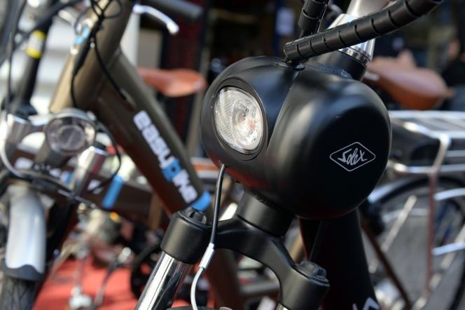 Un vélo électrique de la marque Solex au Bourget, le 5 septembre.
