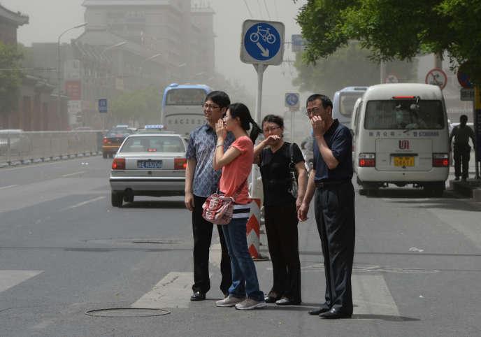 A Pékin, le 19 mai 2013.