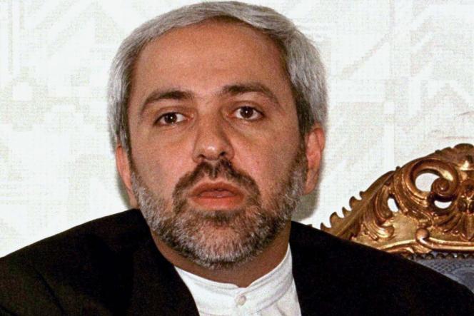 Le ministre des affaires étrangères iranien Mohammed Javad Zarif.