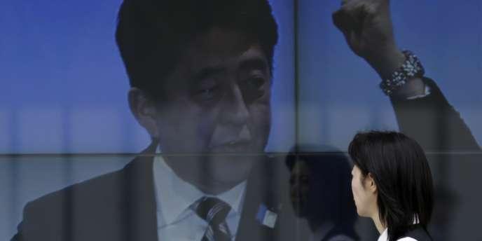 Le premier ministre japonais, Shinzo Abe, à Tokyo, le 16 avril dernier.