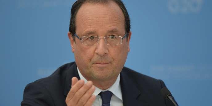 François Hollande, le 6 septembre.