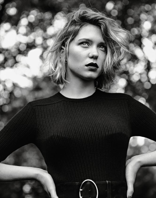 Léa Seydoux photographiée par Alasdair McLellan