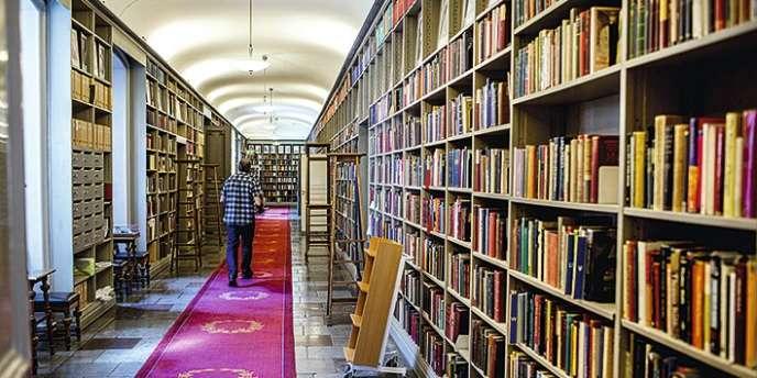 Bibliothèque de l'Académie Nobel, à Stockholm.