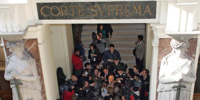 La Cour suprême de justice du Chili.