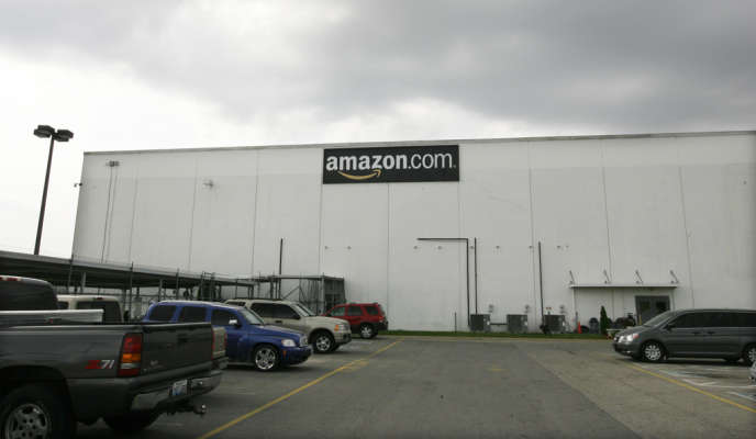 Un entrepôt d'Amazon à Campbellsville, Kentucky.
