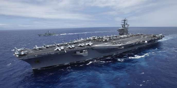 Le porte-avions américain