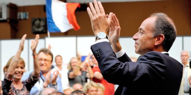 Le président de l'UMP Jean-François Copé au Touquet-Paris-Plage, le 8 septembre.