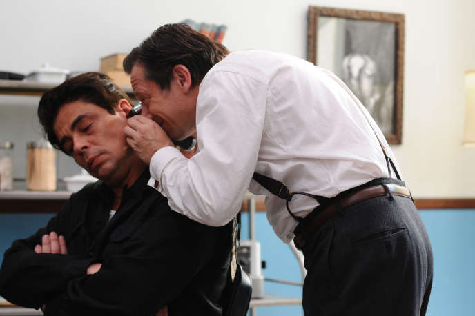 Benicio Del Toro et Mathieu Amalric dans le film français d'Arnaud Desplechin,