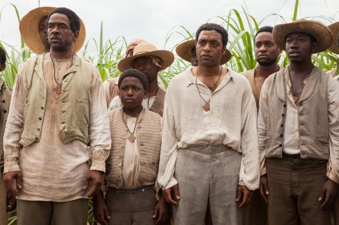 Chiwetel Ejiofor avec Dwight Henry et Michael K. Williams dans le film anglo-américain de Steve McQueen,