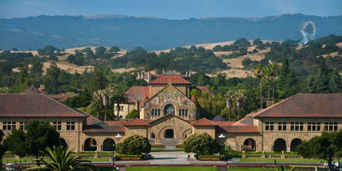 L'université Stanford en Californie.