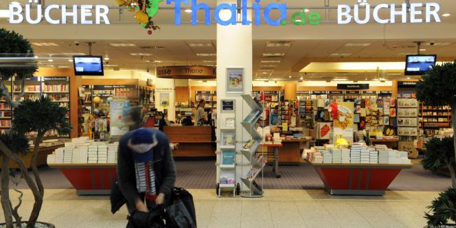 Une librairie berlinoise. L'initiative franco-allemande vient des deux pays continentaux où l'édition a le poids économique le plus important.