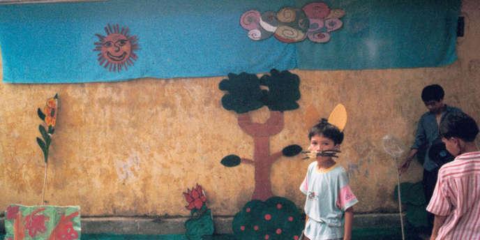 Une scène du film documentaire français de Julien Lahmi et Ali Benkirane,