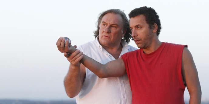 Gérard Depardieu et Atmen Kélif dans le film français de Frédéric Berthe,