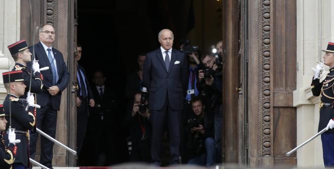 Laurent Fabius, le 7 septembre au Quai d'Orsay.