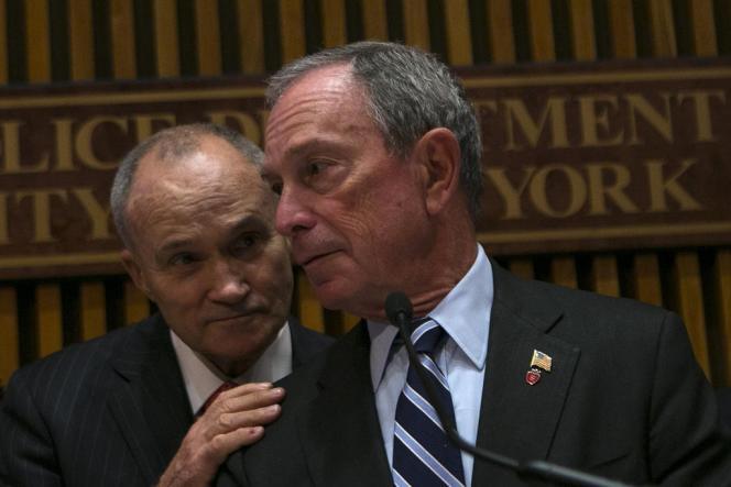 Michael Bloomberg, le 19 août à New York.