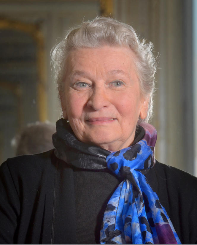 Eliane Radigue, en mai, à Paris.