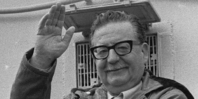 Salvador Allende, alors président du Chili, en 1971.